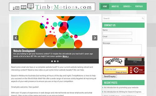 portfolio timbymotions