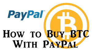 how to buy bit coin with paypal